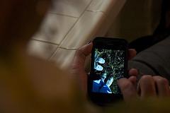 [iPhoneTips]カメラをスワイプするとそこには写真があった