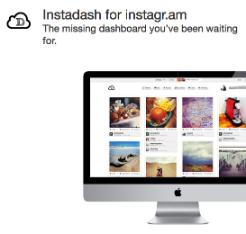 『Instadash』- InstagramのWeb版に新鋭現る!