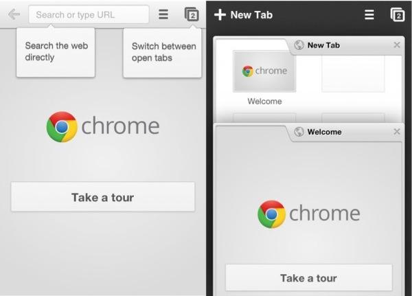 [Chrome for iOS]スワイプが結構良い感じ(´∀`)