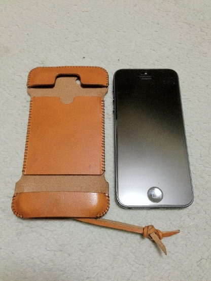 iPhone5用abicaseの正しい装着の仕方