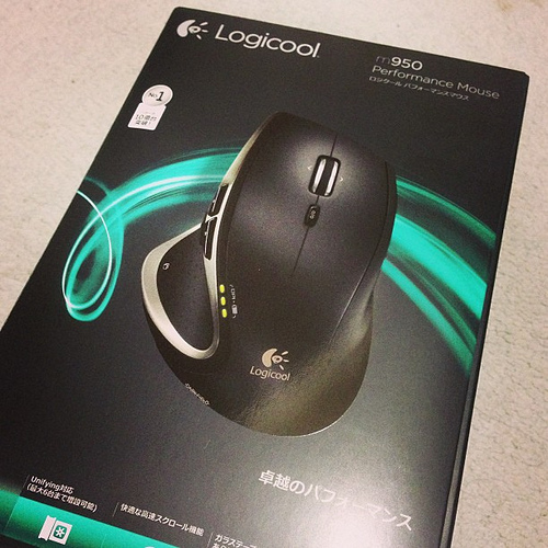 Logicool Perdormance Mouseを新調