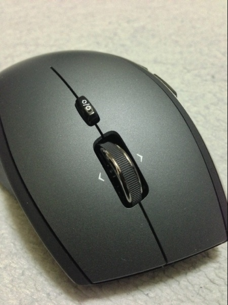 新調したLogicool Performance Mouse