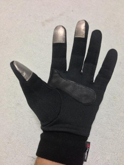 THE NORTH FACEのスマホ用手袋をつけてみた