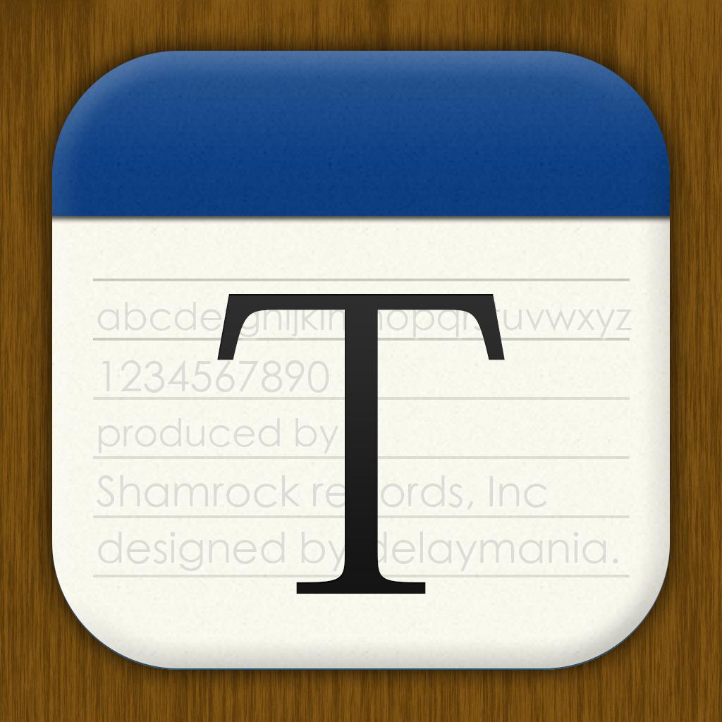 [ThumbEdit]フォントサイズ変更はピンチイン・ピンチアウトで!/設定にないとこがCool!