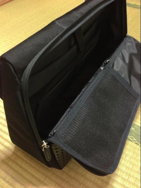 ひらいた! - ひらくPCバッグ購入!カバンの中へのアクセスが快適で荷物が結構入ってビックリ!