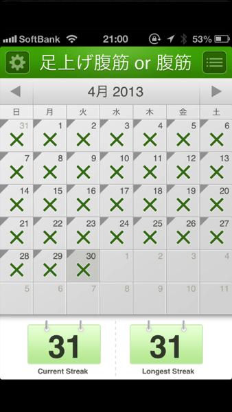 祝1ヶ月継続 - 1ヶ月腹筋を続けられて理由