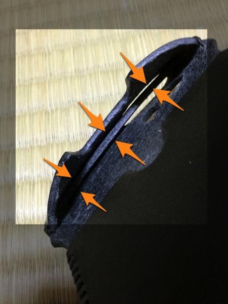 棒状のものを入れる - abicasecawa栃木レザー試作品