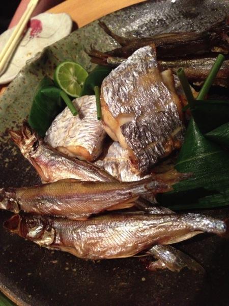 シシャモ、太刀魚 - 竹蔵祭り 2013 - Dpub後夜祭