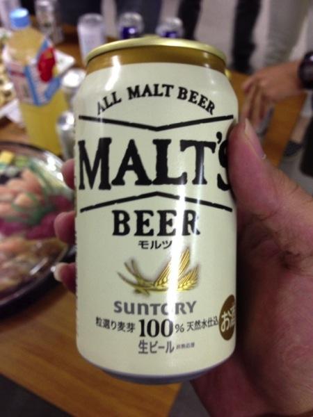懇談会時に飲んだビール - No Second lifeセミナー17