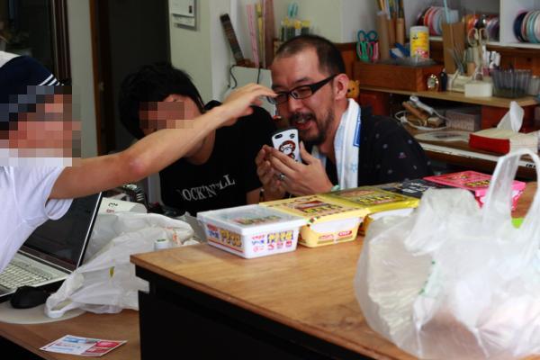 ワイワイユルユルな会場内 - 市川Blog合宿Vol.6