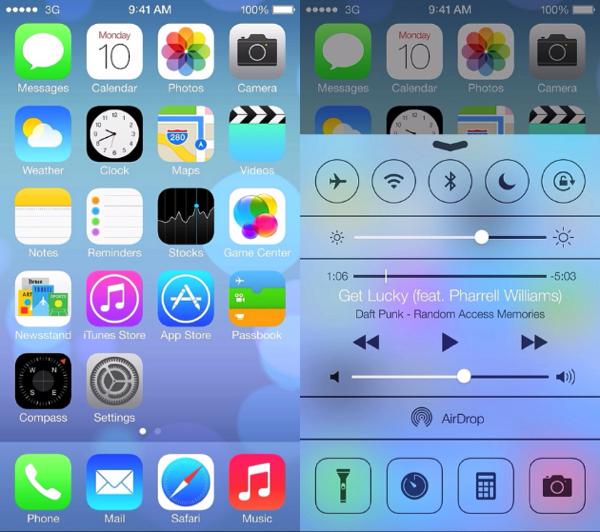 iOS7の個人的に好きなところを3つ上げてみた