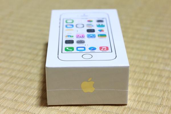 開封 - iPhone 5s無事手元に届きました! / 付属の新品SIMを使用中