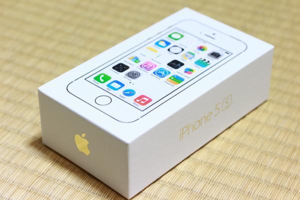 iPhone 5sシャンパンゴールド無事手元に届きました! / いざ開封! / 電話切替に苦戦しました