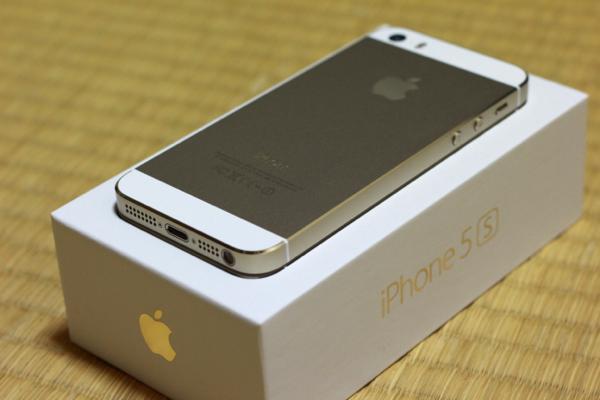 シャンパンゴールド - iPhone 5s無事手元に届きました! / 付属の新品SIMを使用中