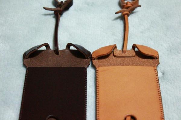2つの違い - チョコ色abicase
