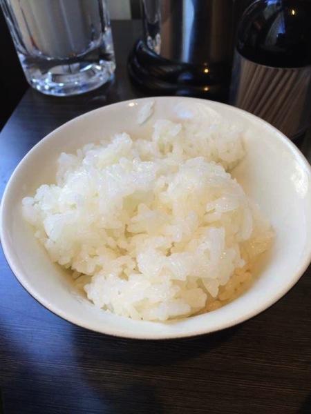 半ライス - かれー麺実之和 - カレーとラーメンが好きなら1度は食べた方が良い!