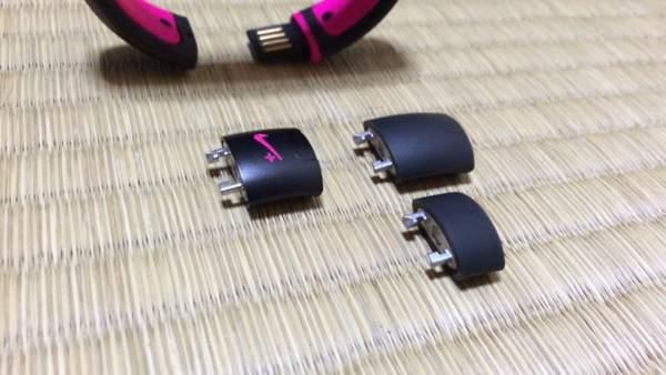 サイズ調整のパーツ - Nike FuelBand SEピンクフォイル購入