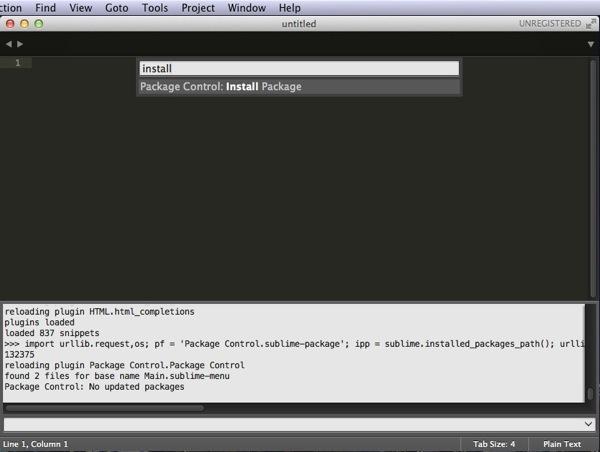 パッケージコントロール - Sublime Text 3を再インストール!
