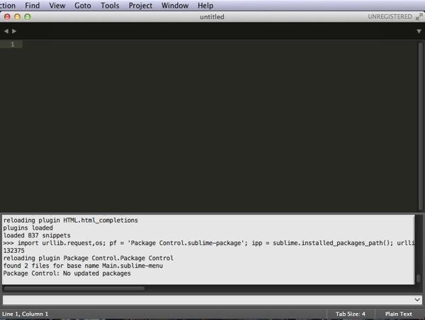 コンソールにペーストしてEnter - Sublime Text 3を再インストール!