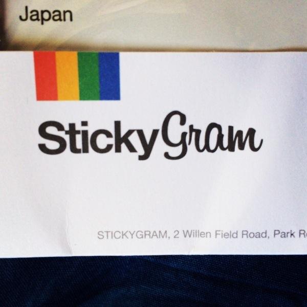 StickyGramで注文したマグネットが届いたよ! ちょっとしたミスで1ヶ月以上掛かってしまった