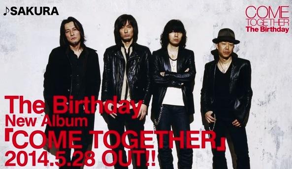 The Birthdayニューアルバム『COME TOGETHER』の全曲ダイジェスト動画が公開されているぞ! / 発売が楽しみだ![MusicLog::Vol.86]