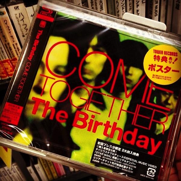The Birthday『COME TOGETHER』発売されて1ヶ月、過去最高にRockしてるアルバム!毎日聞いている![MusicLog::Vol.87]