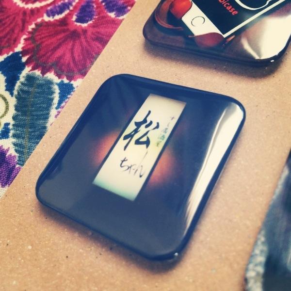 世界に1つだけの松ちゃん缶バッチ - Cangramでabicaseと猫、そして松ちゃんの缶バッチを作ってみた / Instagramの写真使って缶バッチが作れちゃう!