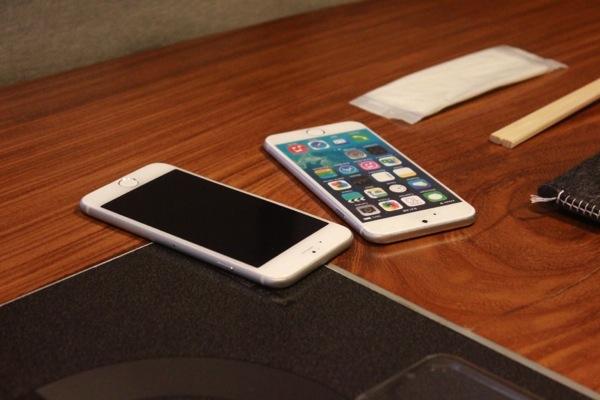 iPhone6のモック - abicaseが好きのオーナーが集まった『abicaseオーナーズオフ!』楽しかった!/ abicaseの過去・今・未来を感じたオフ会 #abicase