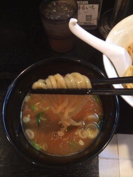 実食 - 大勝軒まるいち(新宿東南口店)のつけ麺を食す! / 安定した味でホッとするつけ麺でした