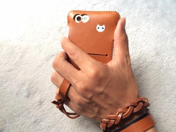 背面 - iPhone6届きabicase装着したらフィット感抜群!手で握った時の安定感も更に良い!やっぱりabicase! #abicase