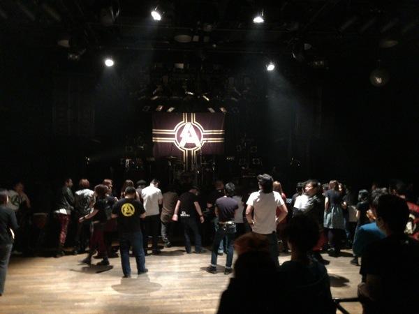 会場の中 - SA 2015 OPENING UP TOUR ファイナルライブレポート![MusicLog::Vol.91]