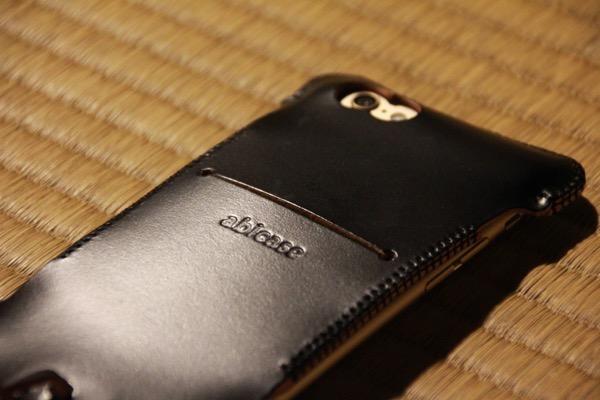 abicase - abicase cawa cordoban 墨黒 / 希少部位のcordobanを使ったabicase / 本当に真っ黒 #abicase
