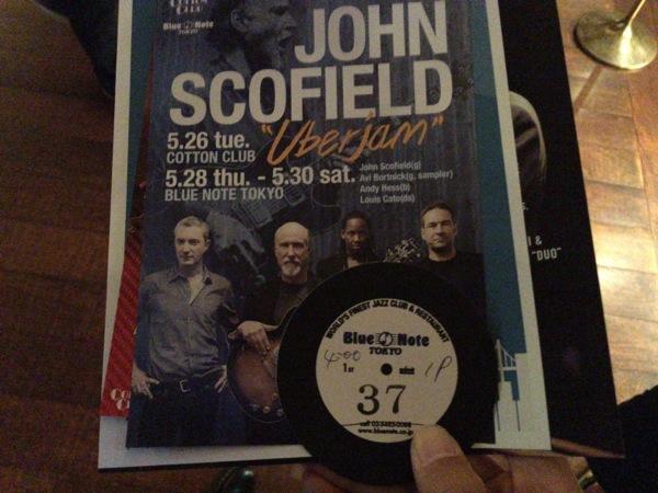 John Scofield - Blue Note TokyoでJohn Scofieldのライブを堪能 / Jazz、Jam、Funkとジョンスコ節満載の1時間半に満足 [MusicLogVol.97]