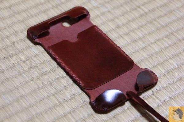 中 - 艶やかなレッドブラウンのabicase cordoban / 鹿革を彷彿させる色がヤバイ!/ これぞabicaseの一張羅!