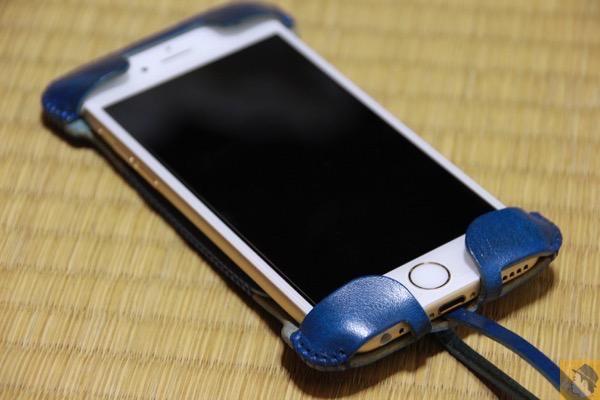 ルガト・ブルーabicase - 革の宝石を使用したabicase『ルガト・ブルー』 虎模様が綺麗に入り鮮やかなブルーをさらに演出 鮮やかなブルーに一目惚れした