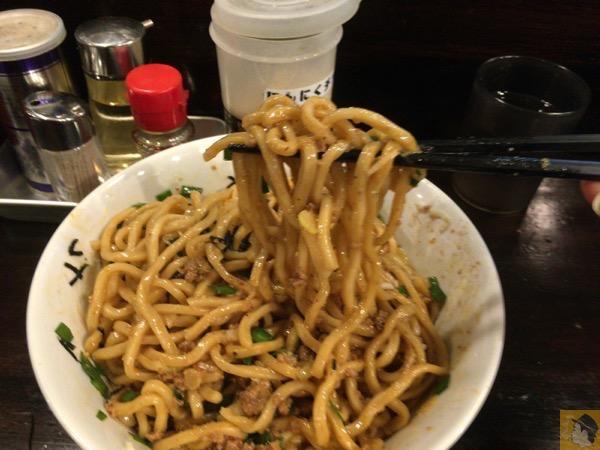 台湾まぜそばリフトアップ - ほうきぼし神田店で台湾まぜそばZを食す! / たまに無性に食べたくなるピリ辛な味が病みつき!ってか病みつきになる / 〆は半ライス