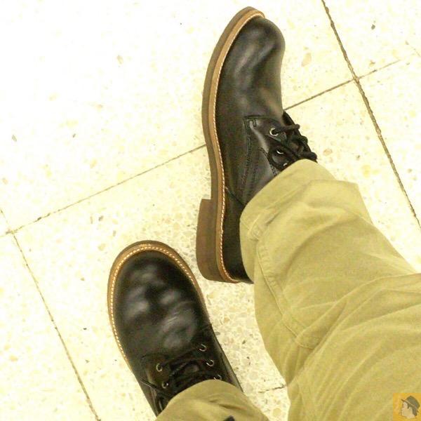 履き心地 - 国産ブーツメーカーSlow Wear Lionの『Oxford』を購入!履き心地、歩きやすさは抜群に良い!