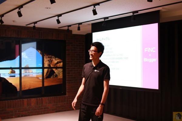 専門のトレーナーの方 - FiNCアプリのコンテンツをその場で体験出来たFiNCブロガーミートアップ / アプリキャンペーン情報有 #fincblogger