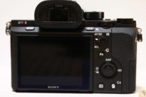 背面 - 初めてのフルサイズ一眼レフ『Sony α7RⅡ(ILCE-7RM2)』を購入!