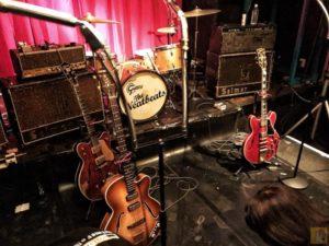 生音ワンマンライブのステージ - THE NEATBEATS 生音ワンマンライブ『BACK TO THE CAVERN!』- TOKYO SPRING BEAT 2 DAYS / やっぱりいいなニートビーツ[MusicLogVol.140]