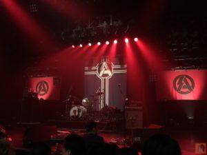 マイナビ赤坂ブリッツのステージ - SA(エスエー)2018/06/09『GRACE UNDER PRESSURE TOUR 2018』@マイナビ赤坂ブリッツ / ツアーファイナルで見たSAのど真ん中